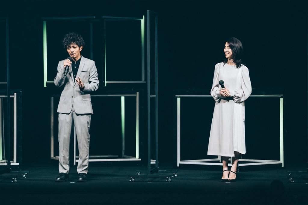 【写真】ショートショートフィルムフェスティバル&アジア2021 (SSFF & ASIA 2021) オープニングセレモニー (和田正人、紺野まひる)