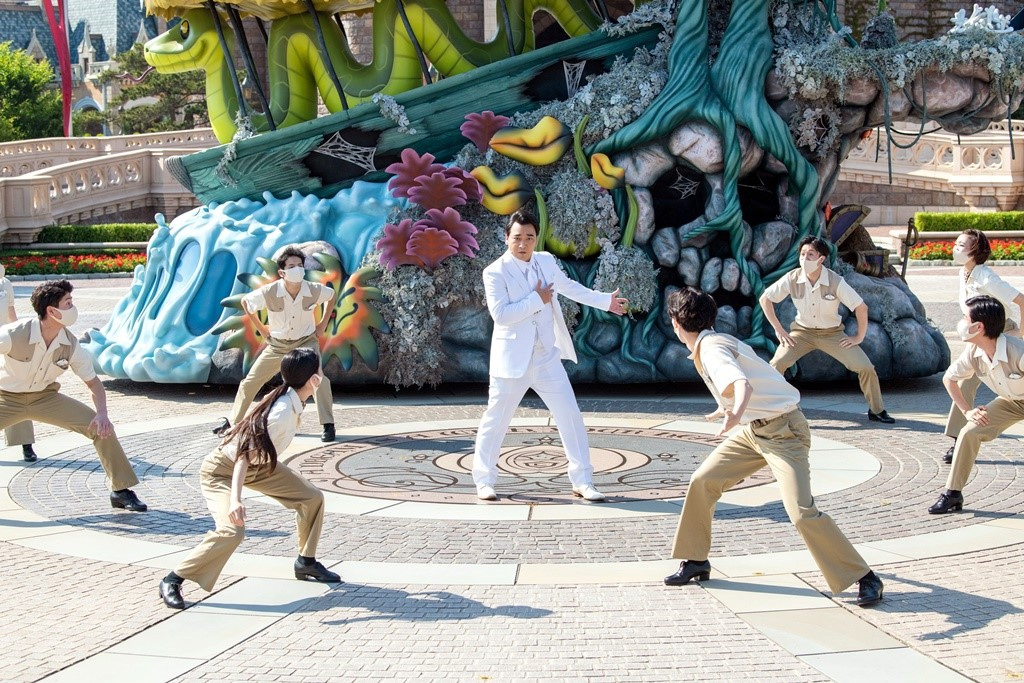 【写真】映画『ジャングル・クルーズ』日本版声優発表セレモニー@東京ディズニーランド (斉藤慎二)