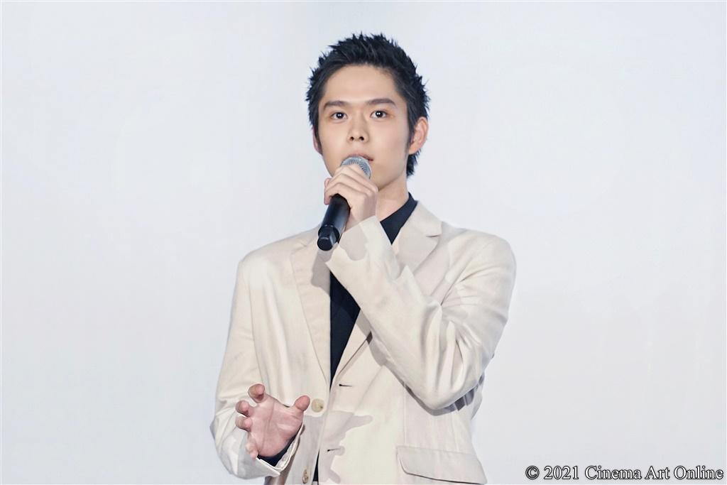 【写真】映画『子供はわかってあげない』公開記念舞台挨拶 (細田佳央太)
