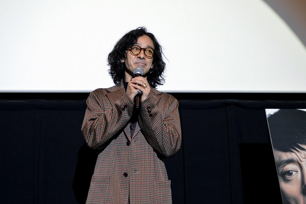 【写真】映画『孤狼の血 LEVEL2』トークイベント付き先行上映会 舞台挨拶 (滝藤賢一)