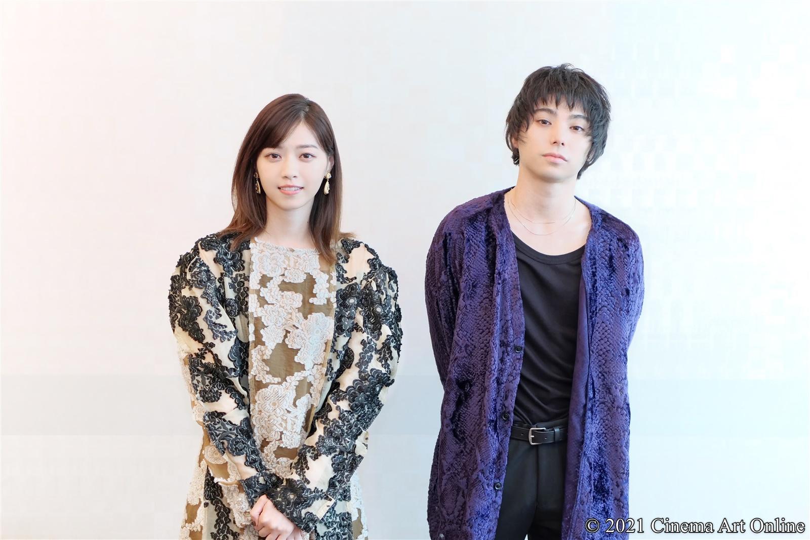 【写真】映画『孤狼の血』西野七瀬×村上虹郎 インタビュー