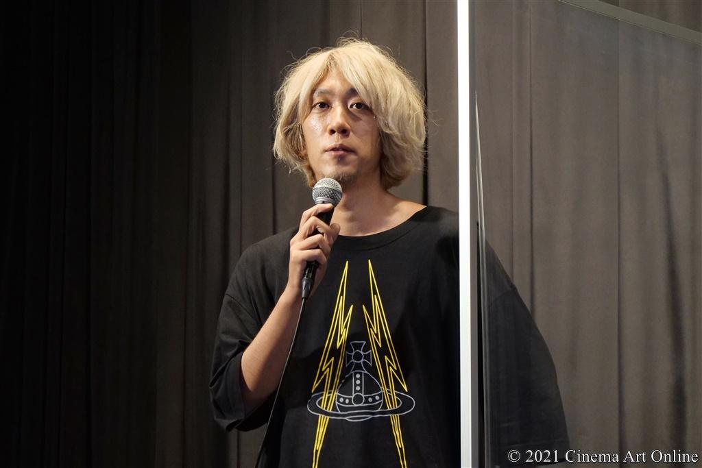【写真】映画『うみべの女の子』完成披露舞台挨拶 (浅野いにお)