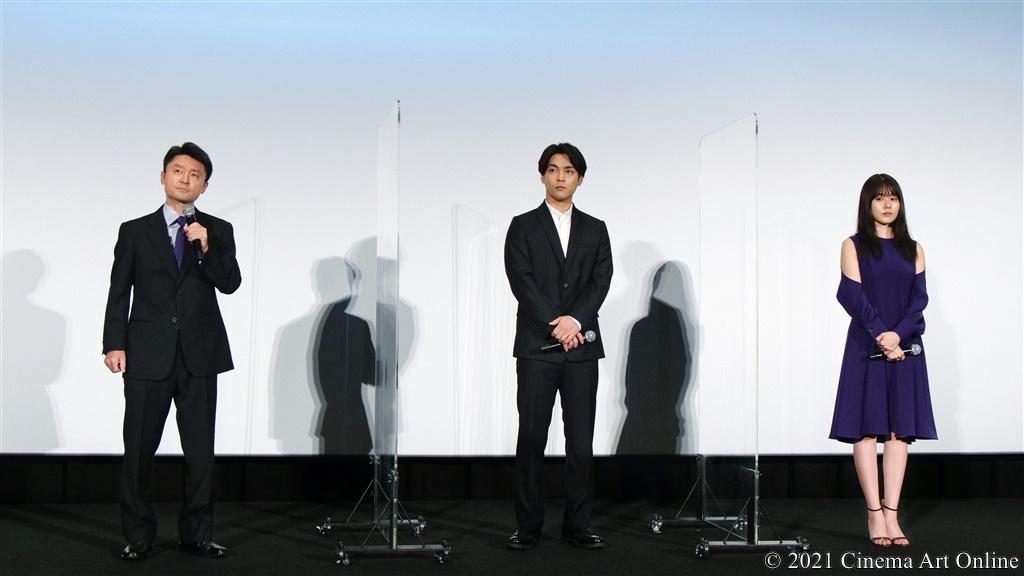 【写真】『映画 太陽の子』公開記念舞台挨拶 (柳楽優弥、有村架純、黒崎博監督)