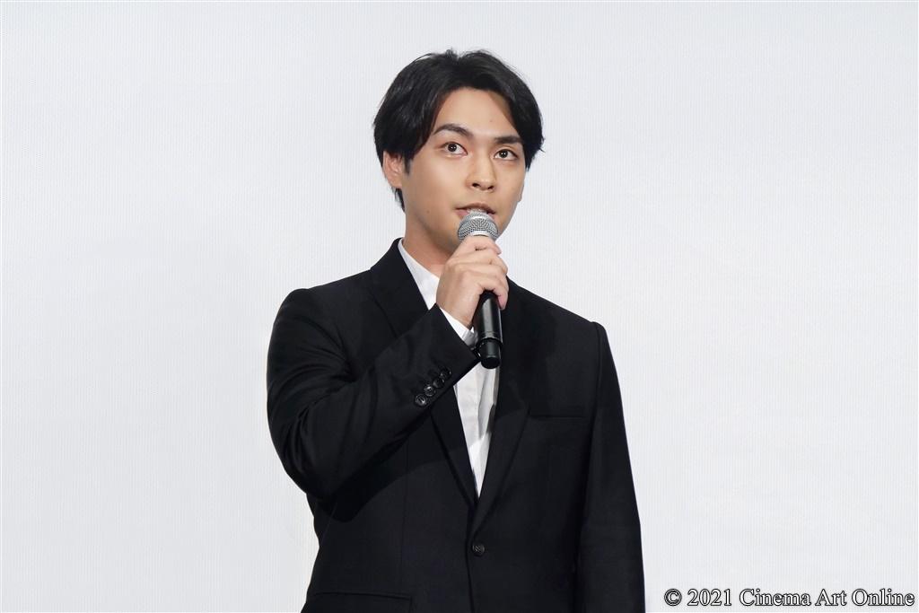 【写真】『映画 太陽の子』公開記念舞台挨拶 (柳楽優弥)
