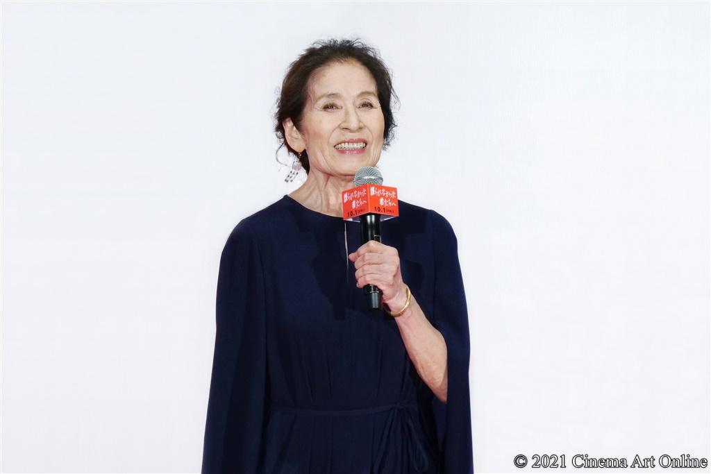 【写真】映画『護られなかった者たちへ』完成披露試写会 舞台挨拶 (倍賞美津子)