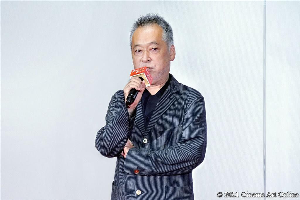 【写真】映画『護られなかった者たちへ』完成披露試写会 舞台挨拶 (瀬々敬久監督)