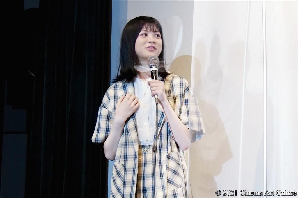【写真】映画『うみべの女の子』公開初日舞台挨拶 (中田青渚)
