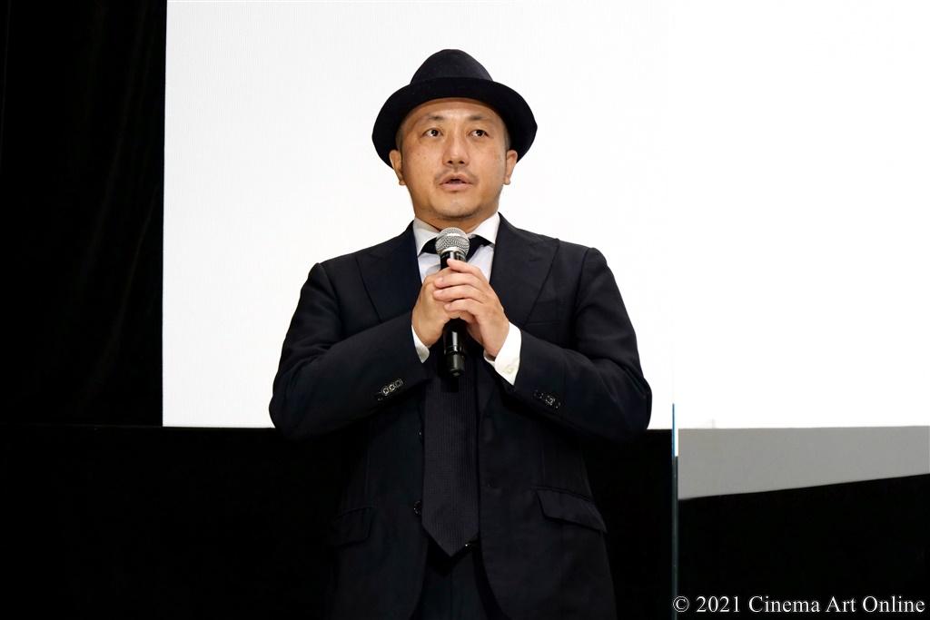 【写真】映画『孤狼の血 LEVEL2』公開記念舞台挨拶 (白石和彌監督)