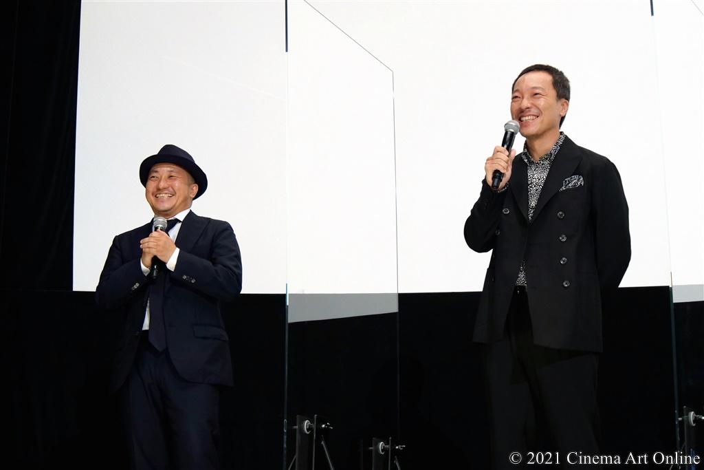 【写真】映画『孤狼の血 LEVEL2』公開記念舞台挨拶 (白石和彌監督、音尾琢真)