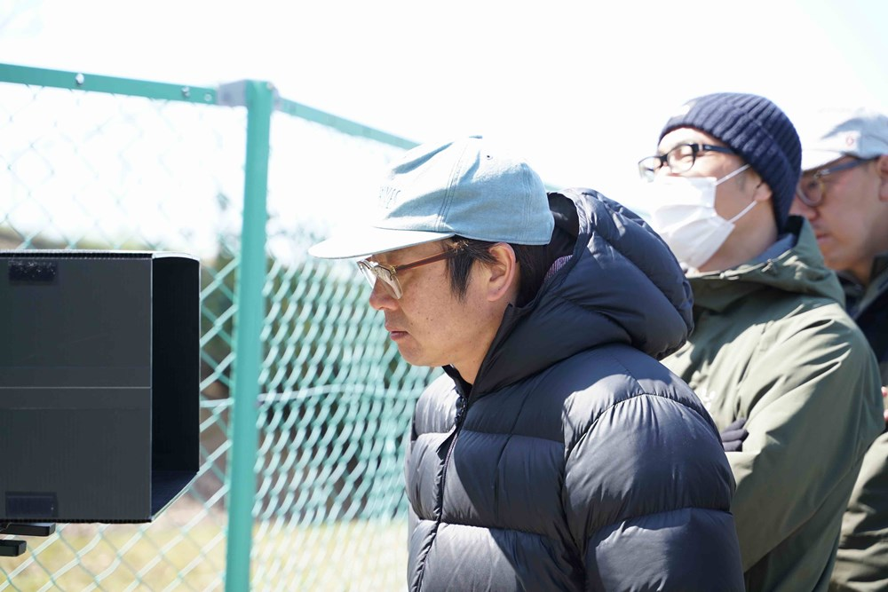【画像】映画『空白』メイキングカット