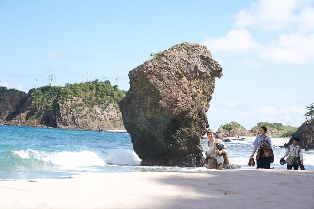 【画像】『映画 太陽の子』京丹後の海でのロケ(柳楽優弥、三浦春馬、有村架純)