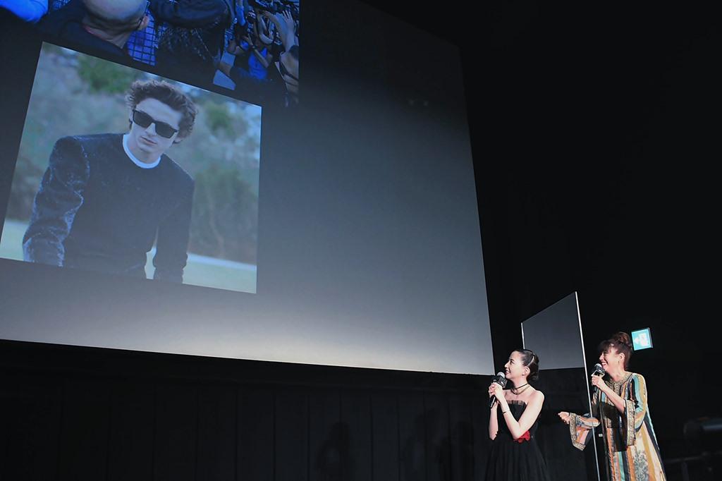 【写真】映画『DUNE/デューン 砂の惑星』 DUNE応援団結成!日本最速試写会イベント ティモシー・シャラメ サプライズ映像!(河北麻友子、LiLiCo)