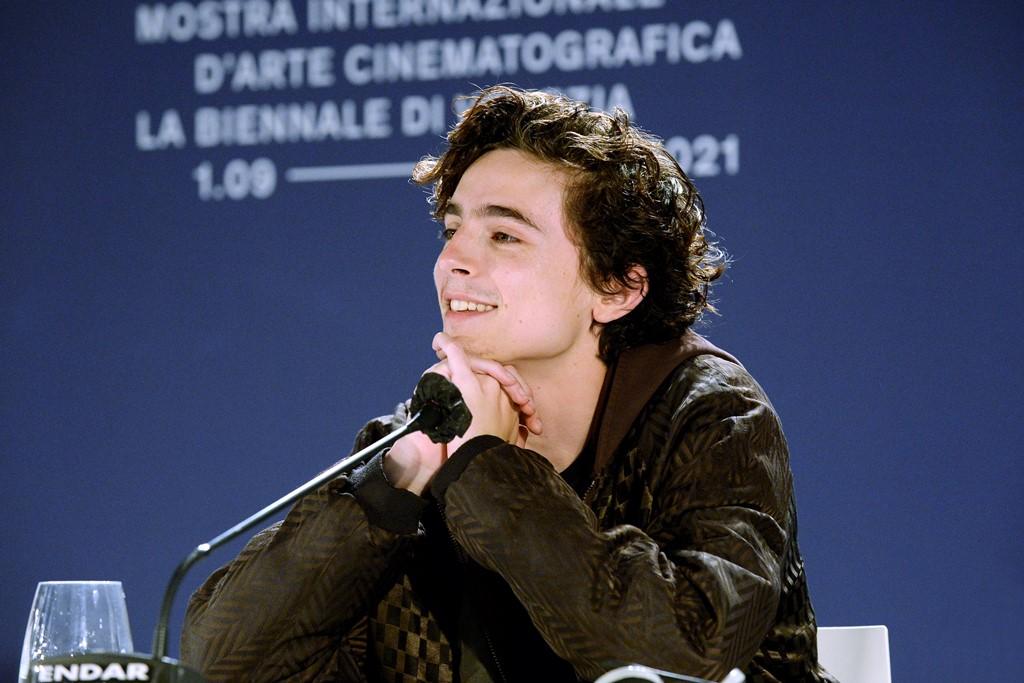 【写真】第78回 ヴェネチア国際映画祭『DUNE』記者会見 (ティモシー・シャラメ)