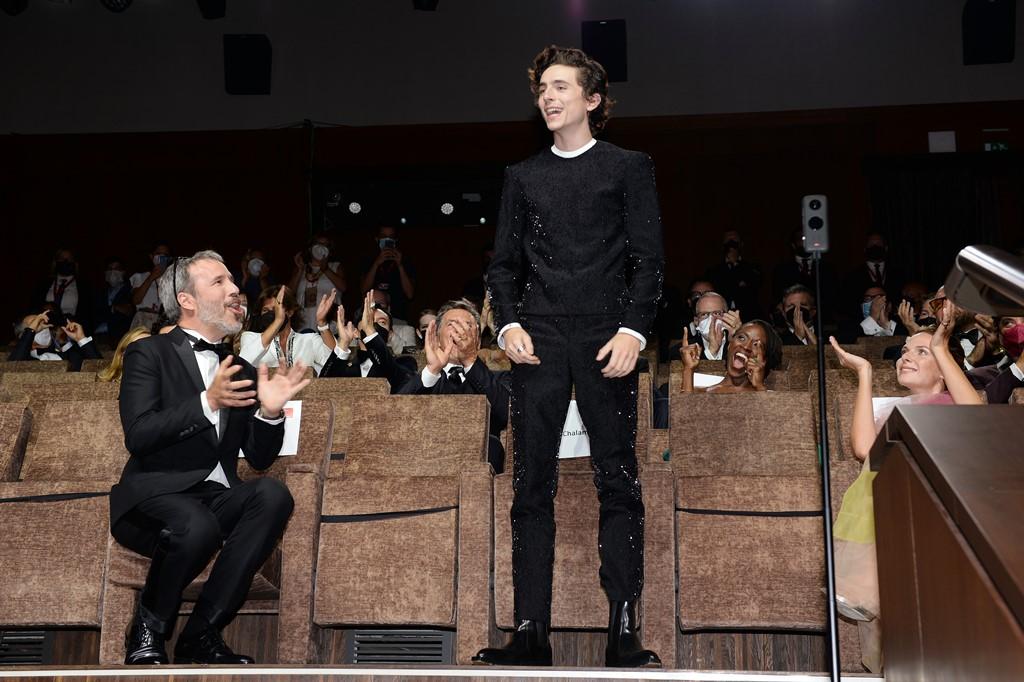 【写真】第78回 ヴェネチア国際映画祭『DUNE』ワールドプレミア (ティモシー・シャラメ)