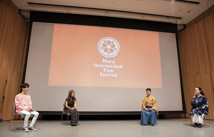 【写真】なら国際映画祭 for Youth 2021 クロージングセレモニー (トークセッション:瀬戸紫英、古見成生、宮城茂雄、河瀨直美)