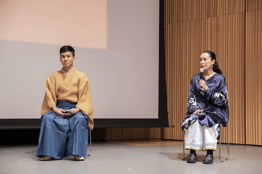 【写真】なら国際映画祭 for Youth 2021 クロージングセレモニー (トークセッション:河瀨直美、宮城茂雄)