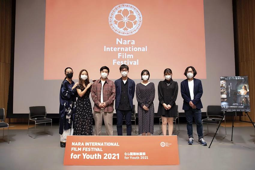 【写真】なら国際映画祭 for Youth 2021 ユースシネマインターン