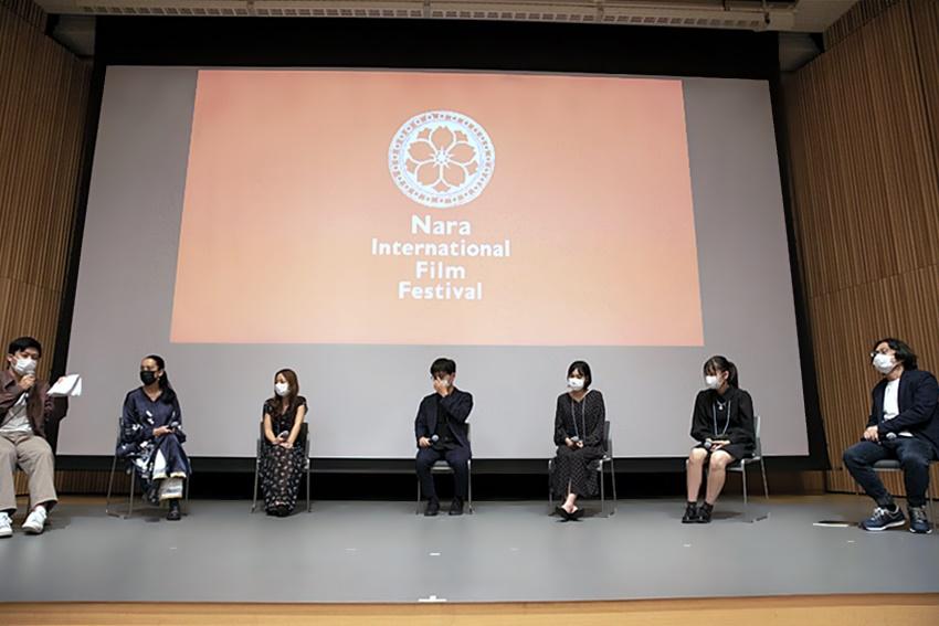 【写真】なら国際映画祭 for Youth 2021 ユースシネマインターン トークセッション