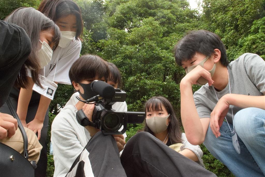 【写真】なら国際映画祭 for Youth 2021 ユース映画制作ワークショップ