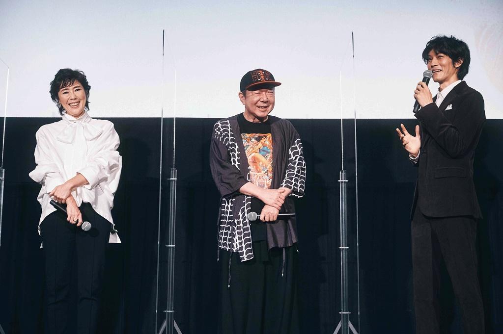 【写真】映画『空白』公開初日舞台挨拶 (寺島しのぶ、古田新太、松坂桃李)