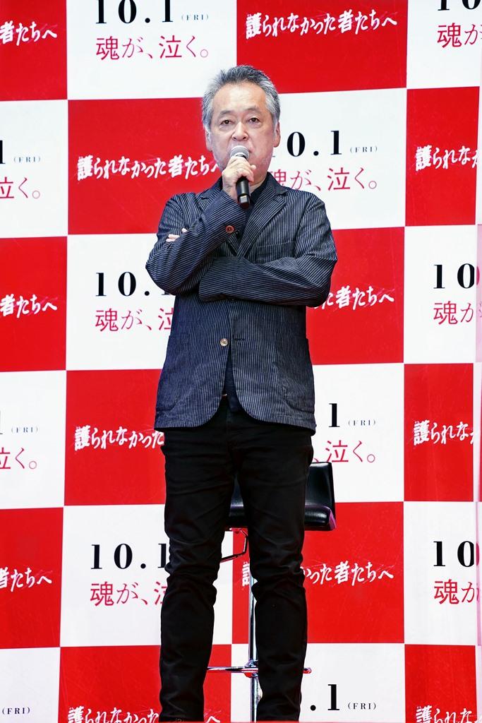 【写真】映画『護られなかった者たちへ』公開直前トークイベント (瀬々敬久監督)