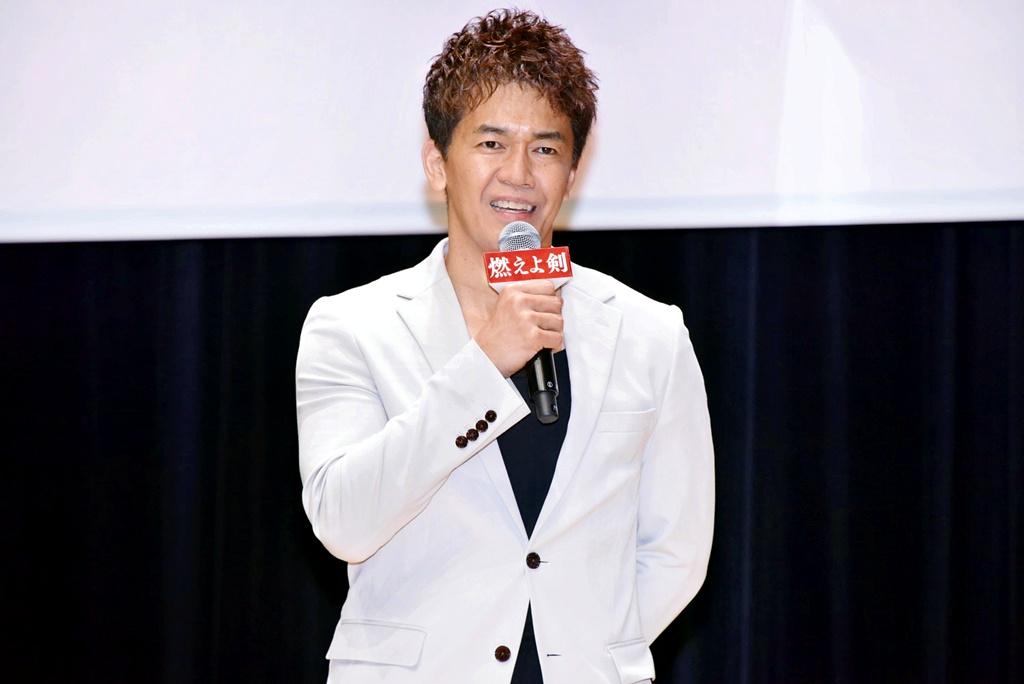 【写真】映画『燃えよ剣』公開記念スペシャルトークイベント (武井壮)