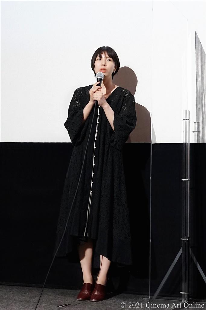 【写真】映画『ひらいて』完成披露舞台挨拶 (首藤凜監督)