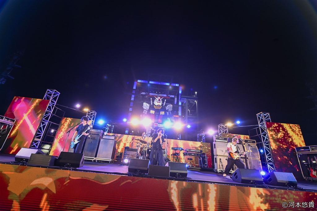 【写真】映画『機動戦士ガンダム 閃光のハサウェイ』[Alexandros] LIVE (川上洋平、磯部寛之、白井眞輝、リアド偉武)