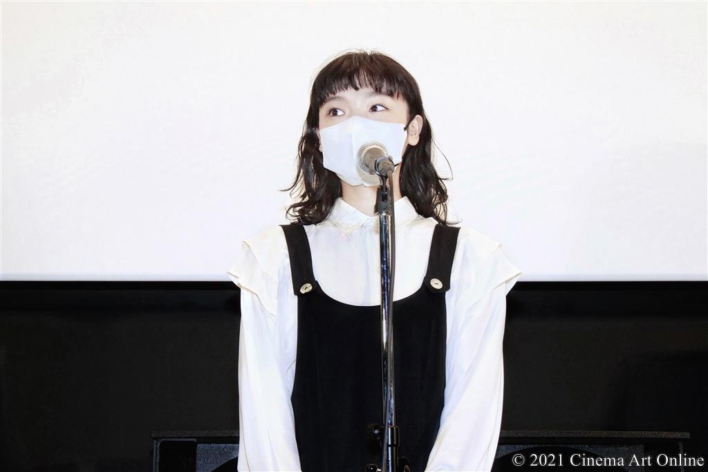 【写真】映画『春』公開記念舞台挨拶 (古川琴音)