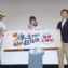 【写真】映画『驚き!海の生きもの超伝説 劇場版ダーウィンが来た!』公開記念舞台挨拶 (水瀬いのり、さかなクン、田所勇樹監督)